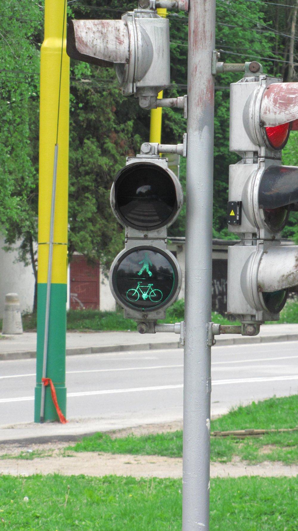 Prvý žilinský semafor a obojsmerná jazda v jednosmerke pre cyklistov