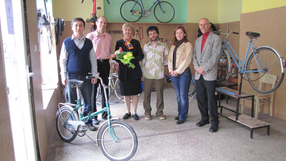 Holandská veľvyslankyňa navštívila cyklodielňu Recykel