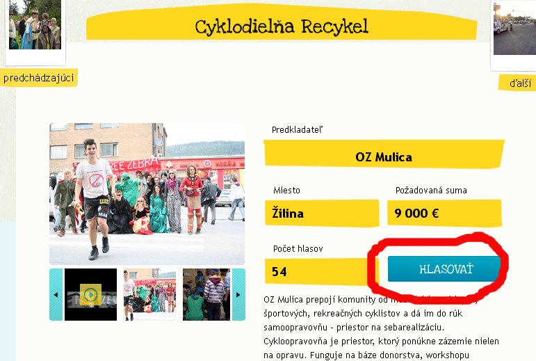 Podporte projekt Recyklu