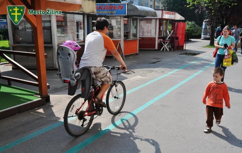Cyklistov v Žiline vôbec nie je málo