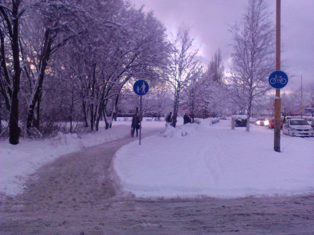 Žilinské cyklotrasy sú zaviate snehom