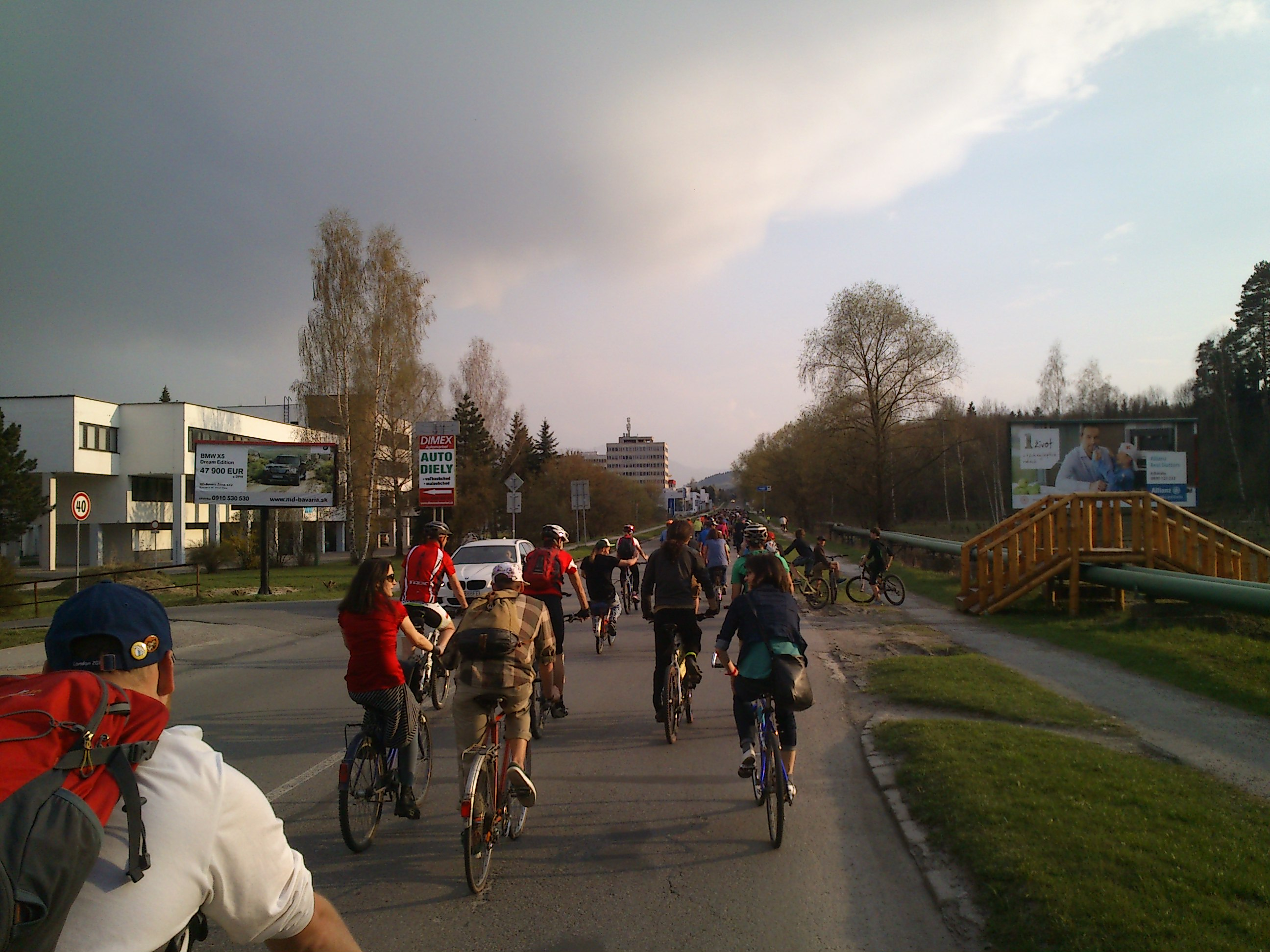 Aprílová cyklojazda otvorila v Žiline sezónu