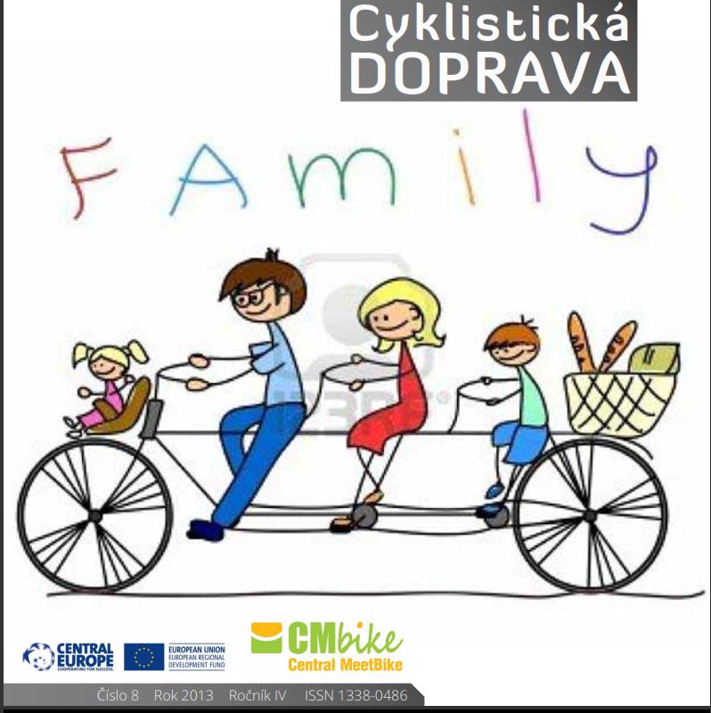 Vyšlo septembrové číslo Cyklistickej dopravy 2013
