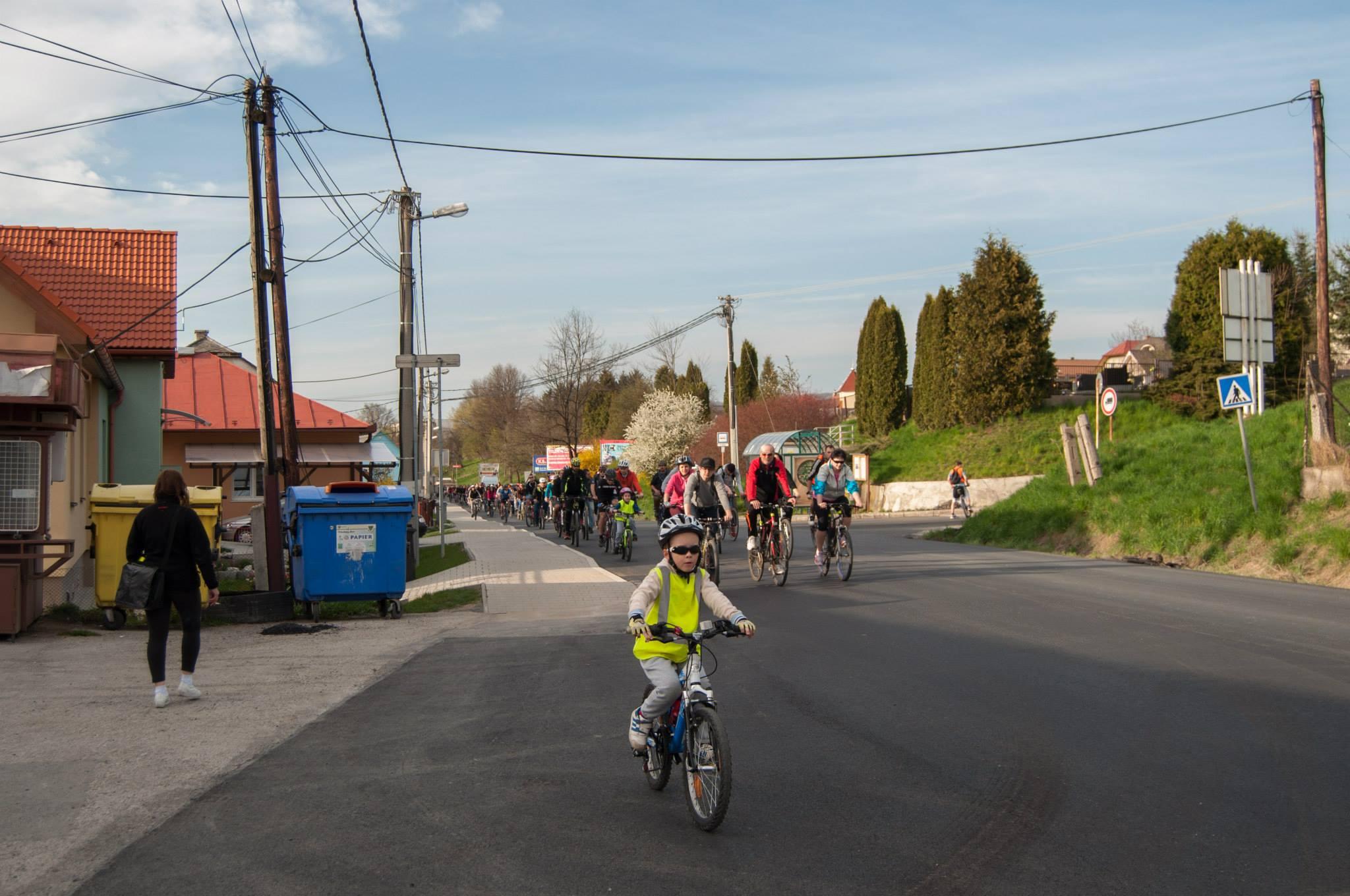 Jarná cyklojazda otvorila sezónu