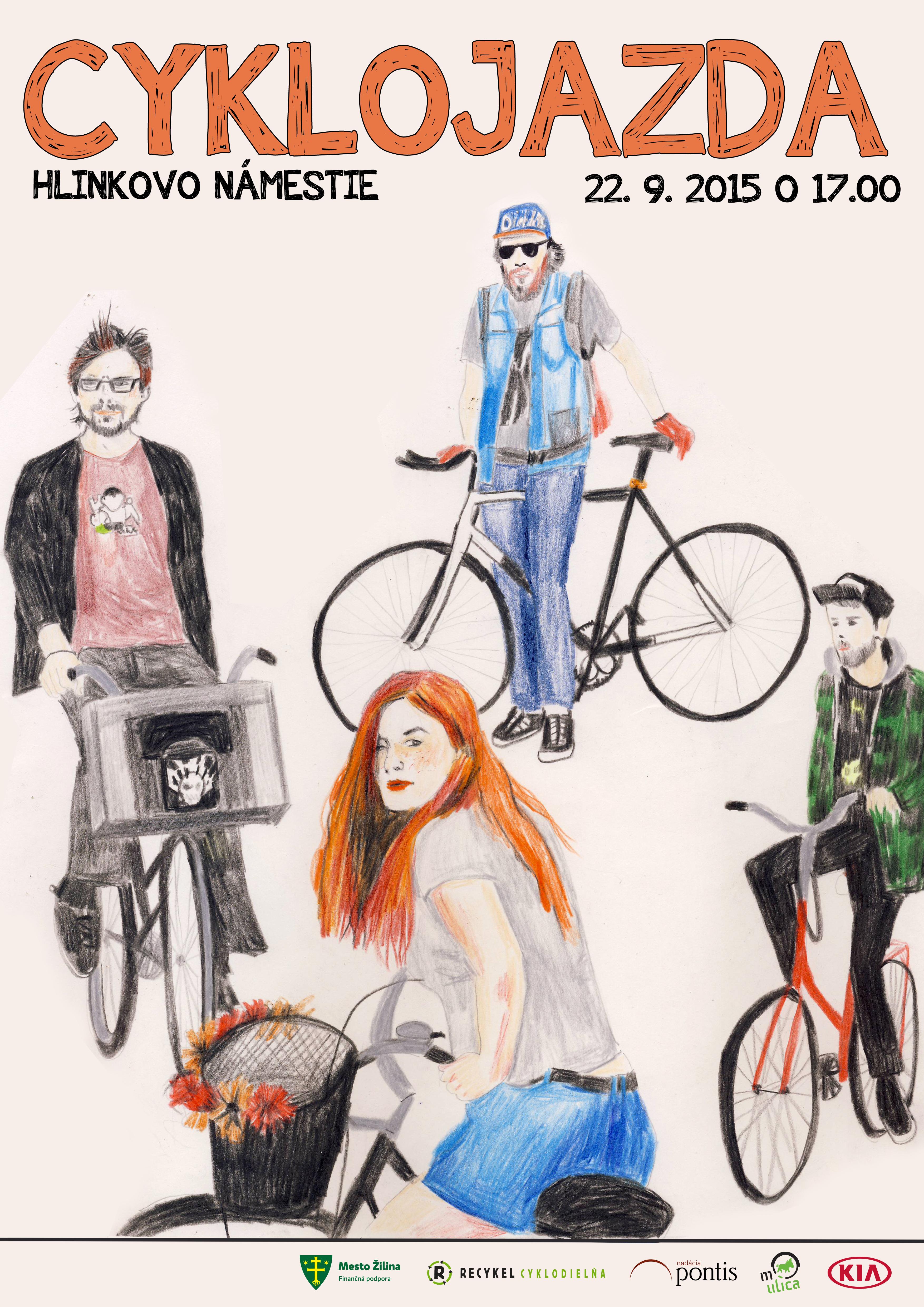 Pozvánka na Veľkú jesennú cyklojazdu 22.9.2015.