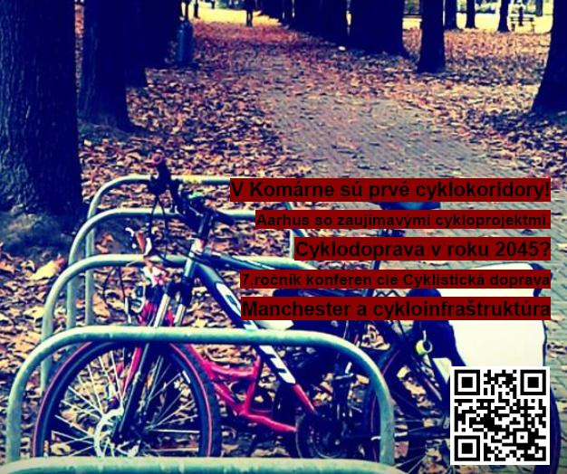 Októbrové číslo Cyklistickej dopravy 2015