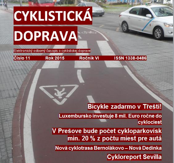 Niečo na zahriatie: Novembrové číslo Cyklistickej dopravy 2015