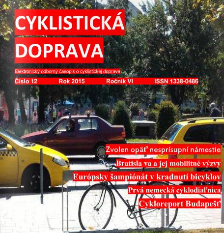 Vianočné decembrové číslo Cyklistickej dopravy 2015
