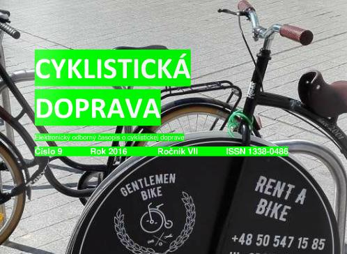 Septembrové číslo Cyklistickej dopravy 2016