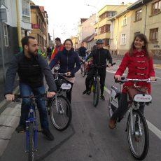 Po spustení bikesharingu, nastal v Žiline cykloboom
