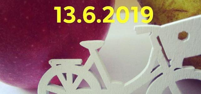Pozvánka na júnové cykloraňajky 13.6