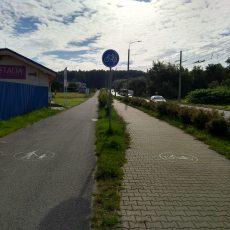 Na cyklocestičke zo Soliniek na Žilinskú univerzitu je prehodené dopravné značenie
