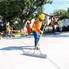 Los Angeles skúša natierať ulice na bielo